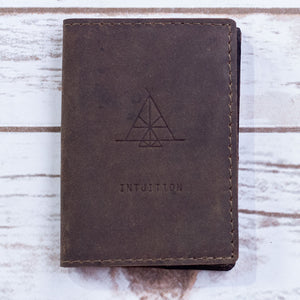 Intuition Pocket Leather Journal