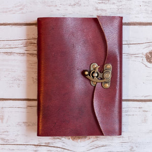 Latch Handmade Leather Journal