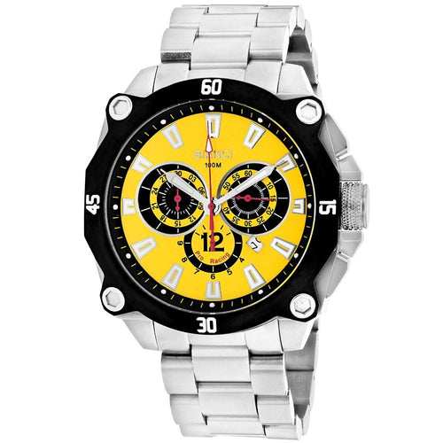 Men's Enzo Yellow Watch