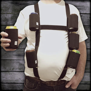 Six Pack Suspenders with 6 Detachable