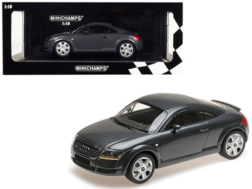 1998 Audi TT Coupe Metallic Gray Limited Edition to 300 pieces Worldwide 1/18 Diecast Model Car by Minichamps