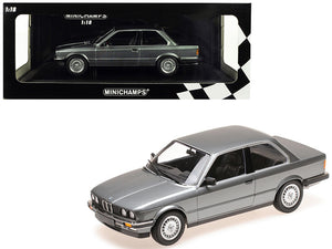 1982 BMW 323i Metallic Gray Limited Edition to 400 pieces Worldwide 1/18 Diecast Model Car by Minichamps | Allshop.store