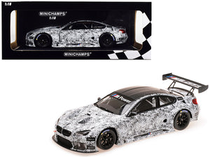 BMW M6 GT3 Presentation SPA 2015 Limited Edition to 504 pieces Worldwide 1/18 Diecast Model Car by Minichamps