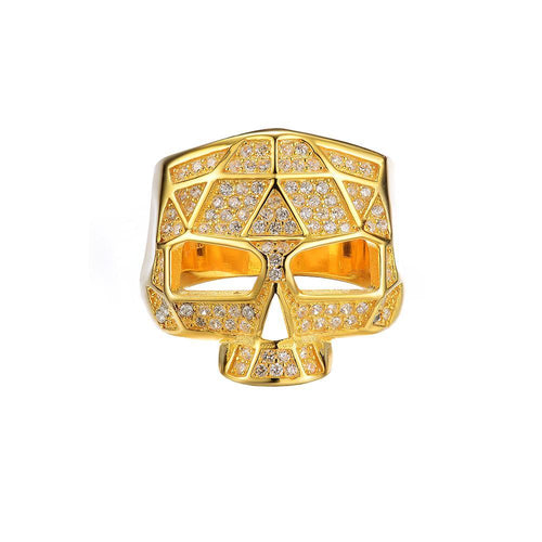 Mister Facet Skull Ring