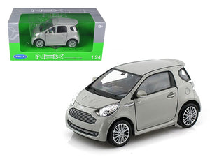 Aston Martin Cygnet Silver 1/24 Diecast Car Model by Welly | Allshop.store