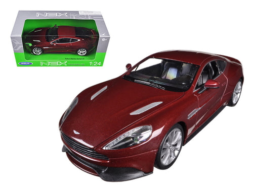 Aston Martin Vanquish Bronze 1/24 Diecast Car Model by Welly | Allshop.store