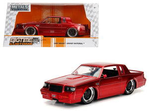 1987 Buick Grand National Candy Red 1/24 Diecast Model Car by Jada | Allshop.store
