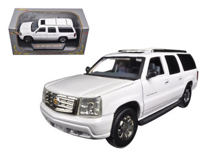2004 Cadillac Escalade ESV Pearl White 1/32 Diecast Car Model by Signature Models | Allshop.store