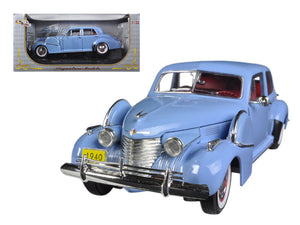1940 Cadillac Sixty Special Blue 1/32 Diecast Car Model by Signature Models | Allshop.store