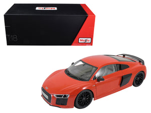 Audi R8 V10 Plus Red Exclusive Edition 1/18 Diecast Model Car by Maisto