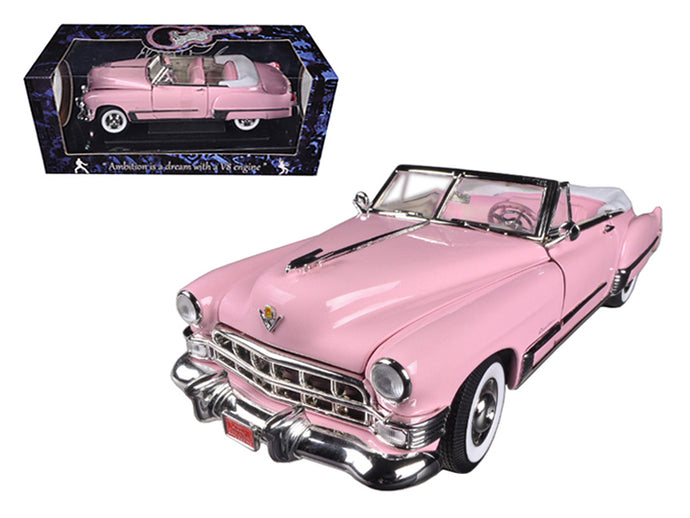 1949 Elvis Presley Pink Cadillac Coupe Deville 1/18 Diecast Car Model by Motorcity Classics | Allshop.store