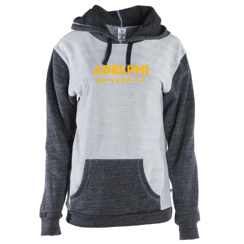 Official NCAA Adelphi University Panthers RYLADU06 Unisex Pocket Pullover Hoodie