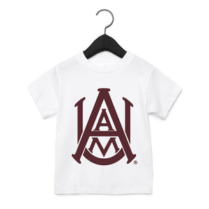 NCAA Alabama A&M Bulldogs PPAMU01 Toddler Short Sleeve Tee