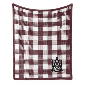 Official NCAA Alabama A&M Bulldogs - Light Weight Fleece Blanket 2 Sizes