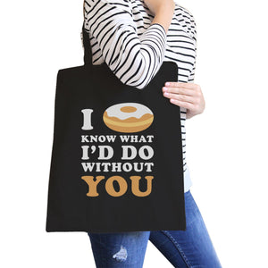 I Doughnut Know Eco Canvas Bag