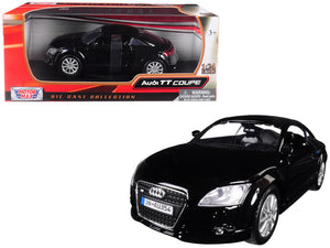 Audi TT Coupe Black 1/24 Diecast Model Car by Motormax