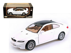 BMW M3 E92 Coupe White 1/24 Diecast Model Car by Motormax | Allshop.store