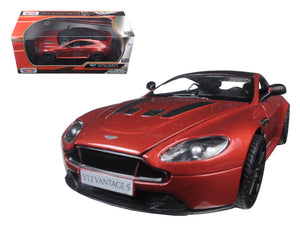 Aston Martin Vantage S V12 Red 1/24 Diecast Model Car by Motormax | Allshop.store