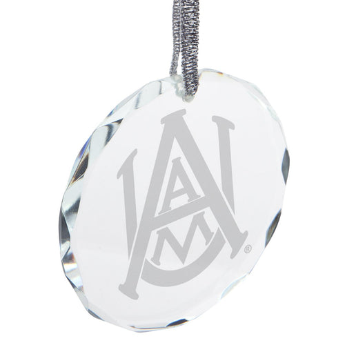 Official NCAA Alabama A&M Bulldogs - Glass Ornament