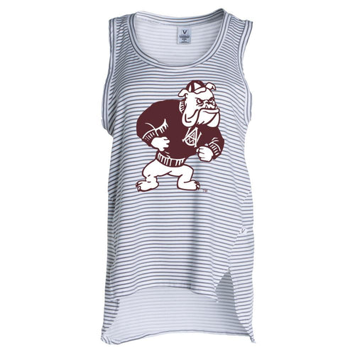 Official NCAA Alabama A&M Bulldogs PPAMU02 Women's Crew Neck Tank Top