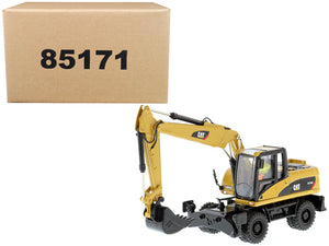 "Caterpillar M316D Wheel Excavator with Operator ""Core Classics Series"" 1/50 Diecast Model by Diecast Masters"