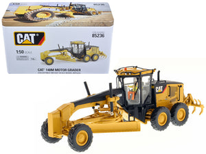Caterpillar 140M Motor Grader with Operator High Line Series 1/50 Diecast Model by Diecast Masters | Allshop.store