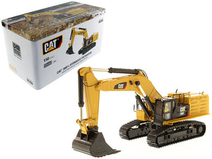 "Caterpillar 390F LME Hydraulic Tracked Excavator with Operator ""High Line Series"" 1/50 Diecast Model by Diecast Masters 