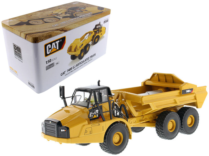 Caterpillar 740B EJ Articulated Truck with Operator High Line Series 1/50 Diecast Model by Diecast Masters | Allshop.store