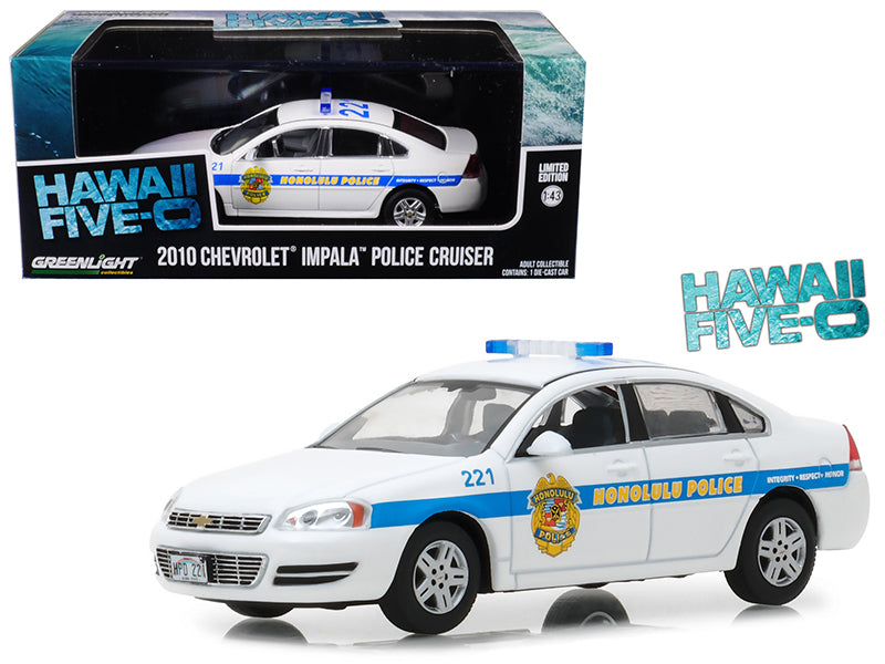 2010 Chevrolet Impala Honolulu Police Cruiser from