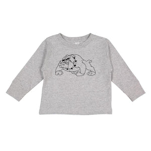 NCAA Alabama A&M Bulldogs PPAMU06 Toddler Long-Sleeve T-Shirt