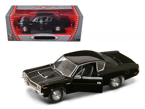 1970 AMC Rebel Black 1/18 Diecast Car Model by Road Signature | Allshop.store