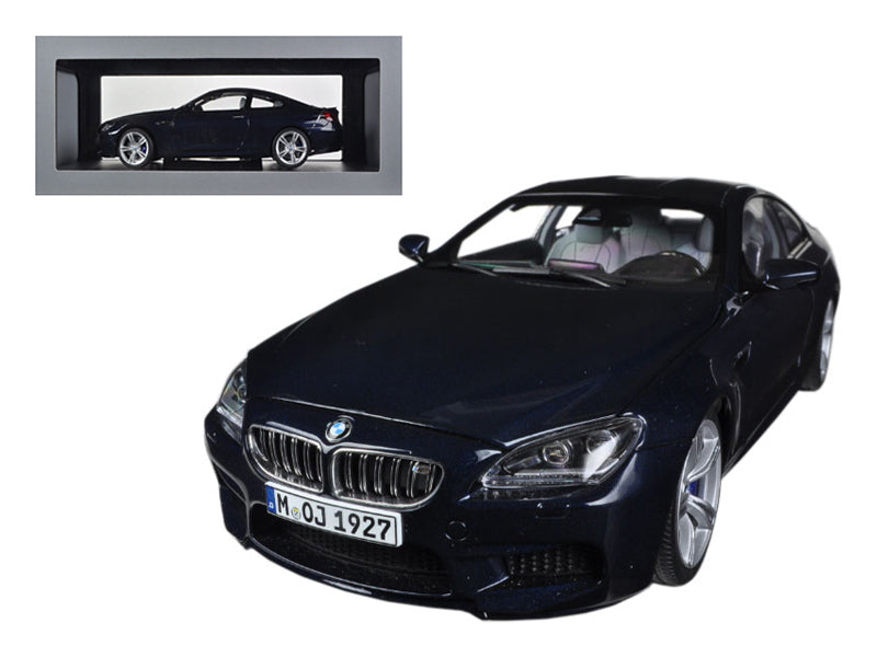 BMW M6 F13M Coupe Imperial Blue 1/18 Diecast Car Model by Paragon | Allshop.store