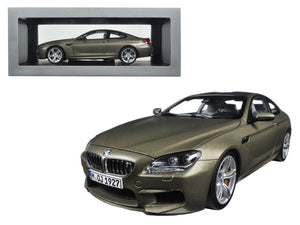 BMW M6 F13M Coupe Frozen Bronze 1/18 Diecast Model Car by Paragon | Allshop.store