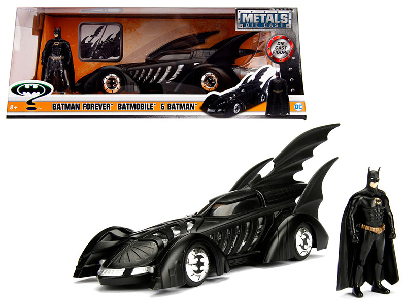 1995 Batman Forever Batmobile with Diecast Batman Figure 1/24 Diecast Model Car by Jada | Allshop.store