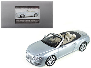 2016 Bentley Continental GT Convertible LHD Silver Frost 1/18 Diecast Model Car by Paragon | Allshop.store