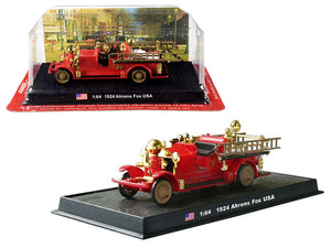 1924 Ahrens Fox Fire Engine 1/64 Diecast Model by Amercom