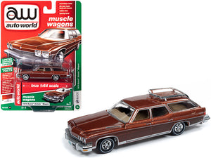 1974 Buick Estate Wagon Cinnamon Brown Metallic with Woodgrain Sides