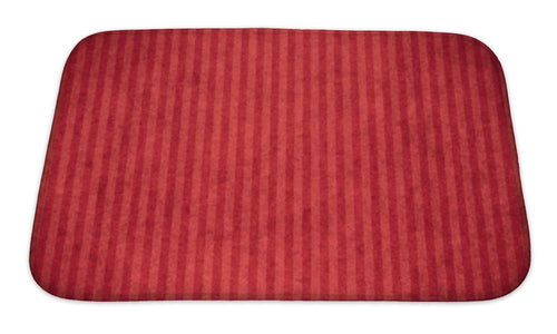 Bath Mat, Red Abstract Paper | Allshop.store