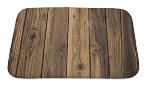 Bath Mat, Wood Pattern | Allshop.store