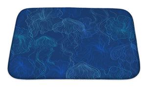 Bath Mat, Pattern Of Jellyfish | Allshop.store
