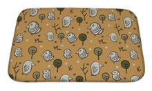 Load image into Gallery viewer, Bath Mat, Sparrow Pattern | Allshop.store