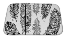 Load image into Gallery viewer, Bath Mat, Set Of Ethnic Feathers | Allshop.store
