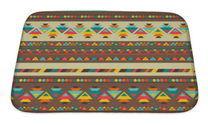 Bath Mat, Ethnic Pattern In Native Style | Allshop.store