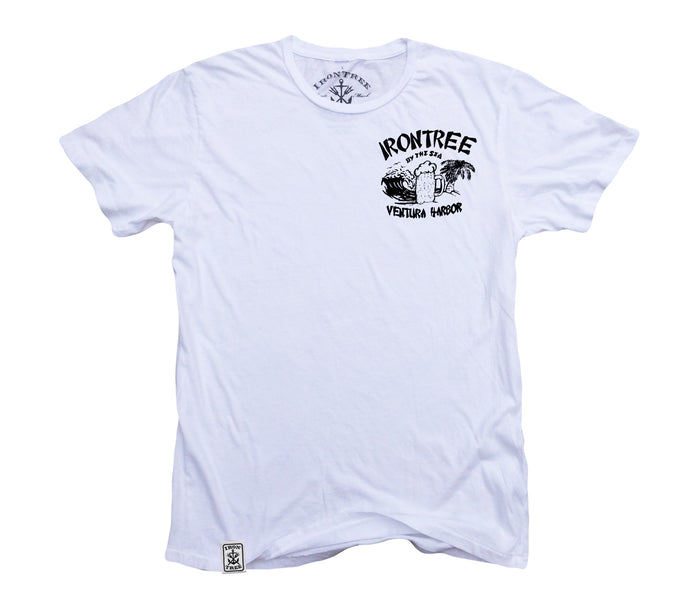 IronTree By The Sea ll: Organic Fine Jersey Short Sleeve T-Shirt