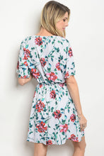 Load image into Gallery viewer, White Floral Dress