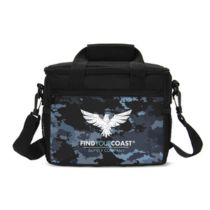 FYC Insulated Coast Camo Cooler Bag