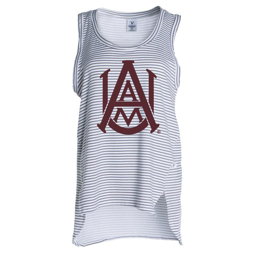 Official NCAA Alabama A&M Bulldogs PPAMU01 Women's Crew Neck Tank Top