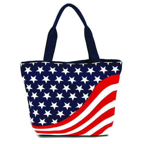 Americana Tote Bag in Polyester