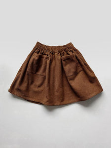 The Simple skirt rust