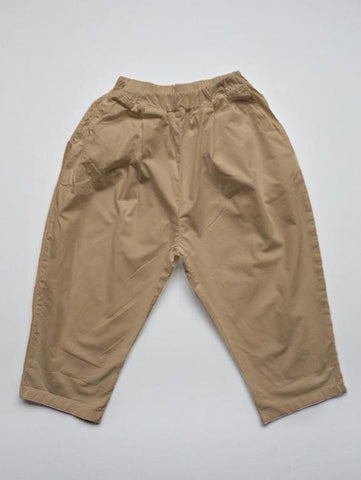 Summer trousers camel
